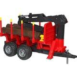 bruder Remorque Forestière avec Chargeur, Modèle réduit de voiture 2252