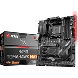 MSI B450 TOMAHAWK MAX carte mère Emplacement AM4 ATX AMD B450 AMD, Emplacement AM4, AMD A,AMD Ryzen, DDR4-SDRAM, DIMM, 2667,2800,2933,3000,3066,3200,3466,4100,4133 MHz