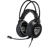 Sharkoon Skiller SGH1, Casque Gaming Noir