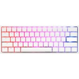 Ducky Ducky One 2 Mini White RGB MX Brown US, Clavier Gaming Blanc