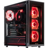 ALTERNATE Gamer RED RTX 2060, PC complet 16 Go, Gb-LAN, Windows 10