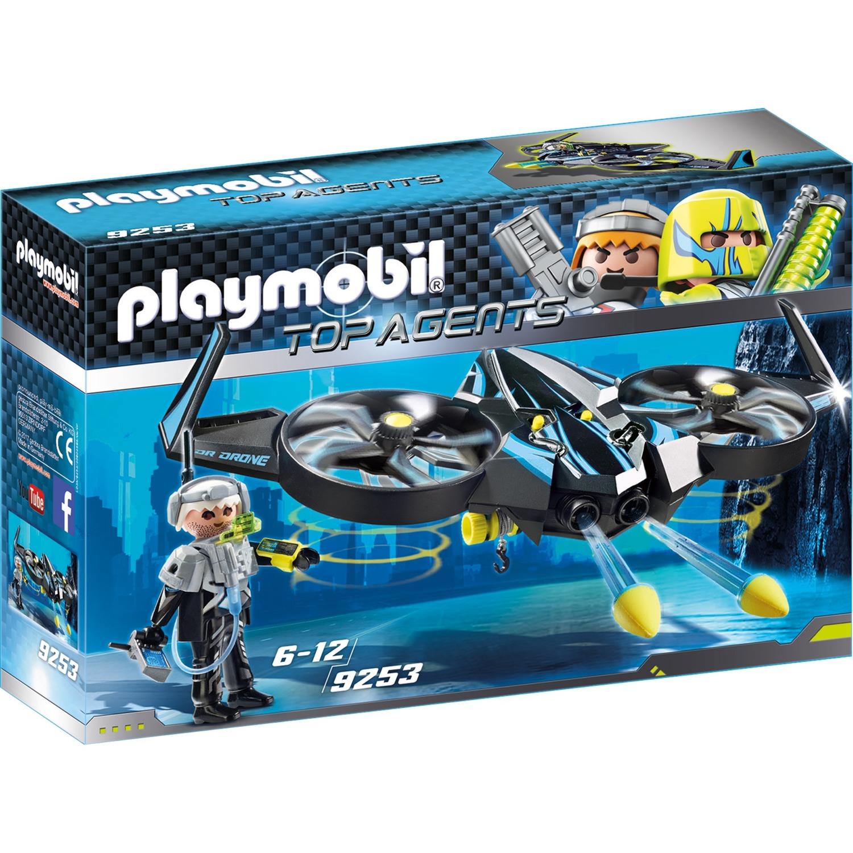 Playmobil GarçonJouets De Action Mega Drone 9253 City Construction eECoWdQBrx