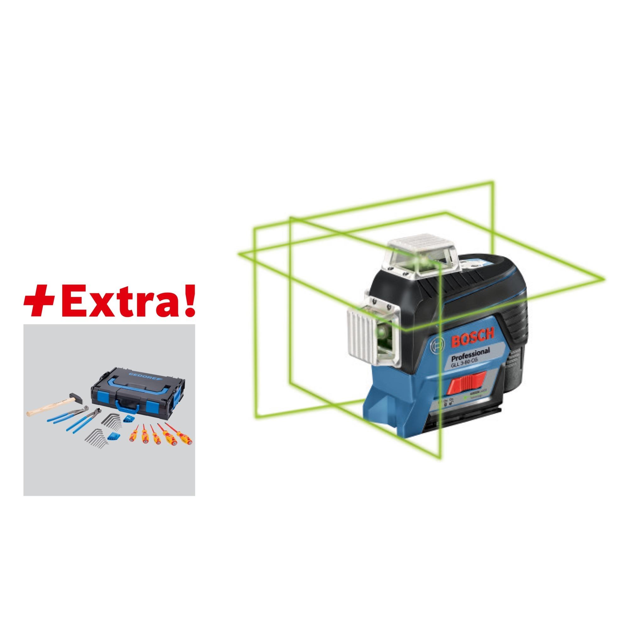 bosch 06159940km, laser de ligne bleu/noir