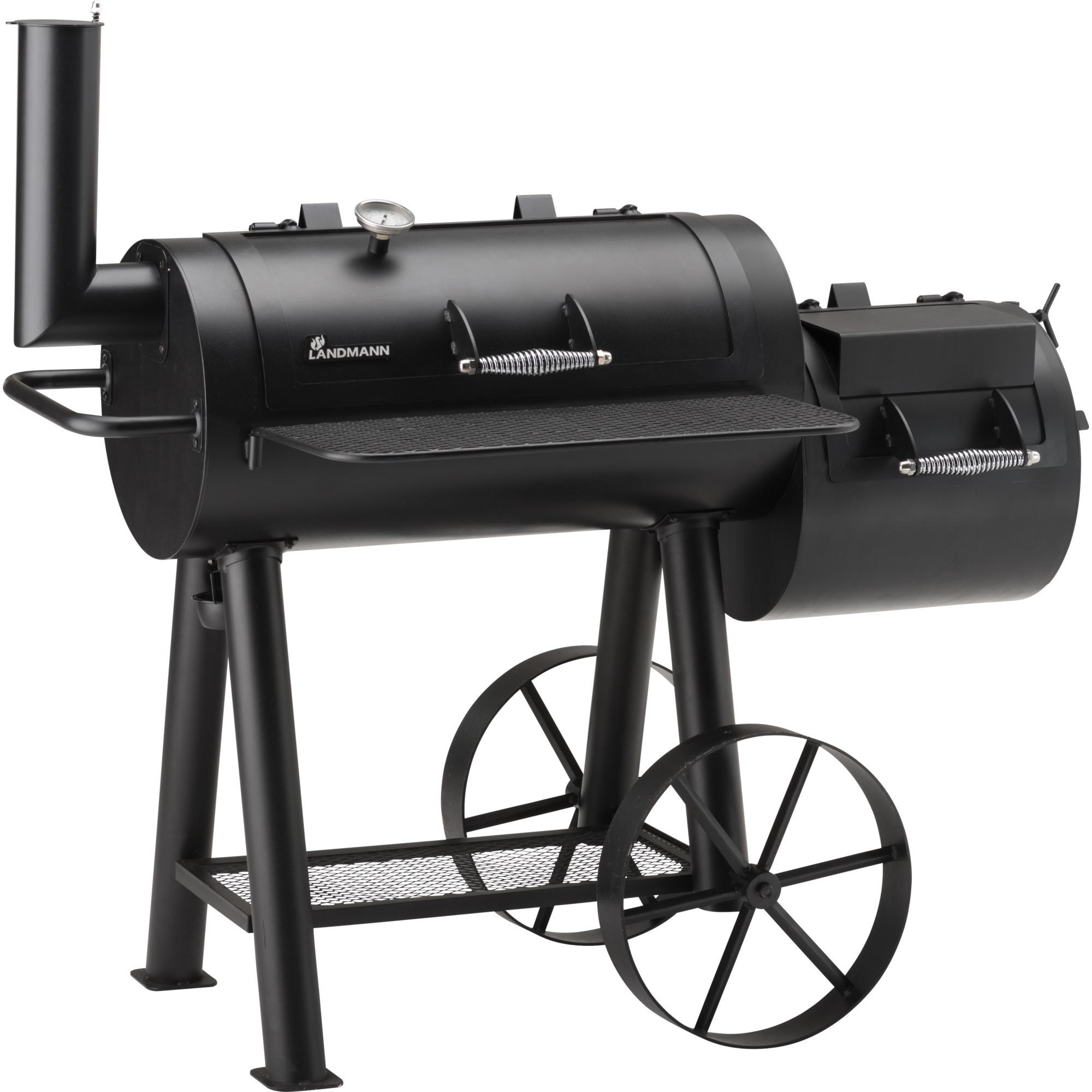 landmann tennessee 400 grill ensemble de cuisson noir, barbecue noir